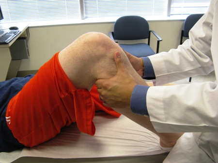 Medial collateral ligament injury - History and exam | BMJ