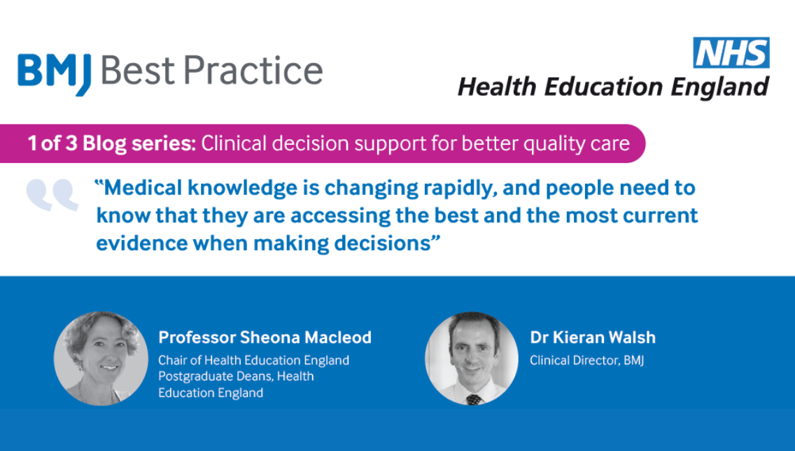 Clinical decision support for better quality care