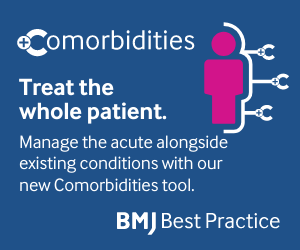 Introducing the Comorbidities tool from BMJ Best Practice