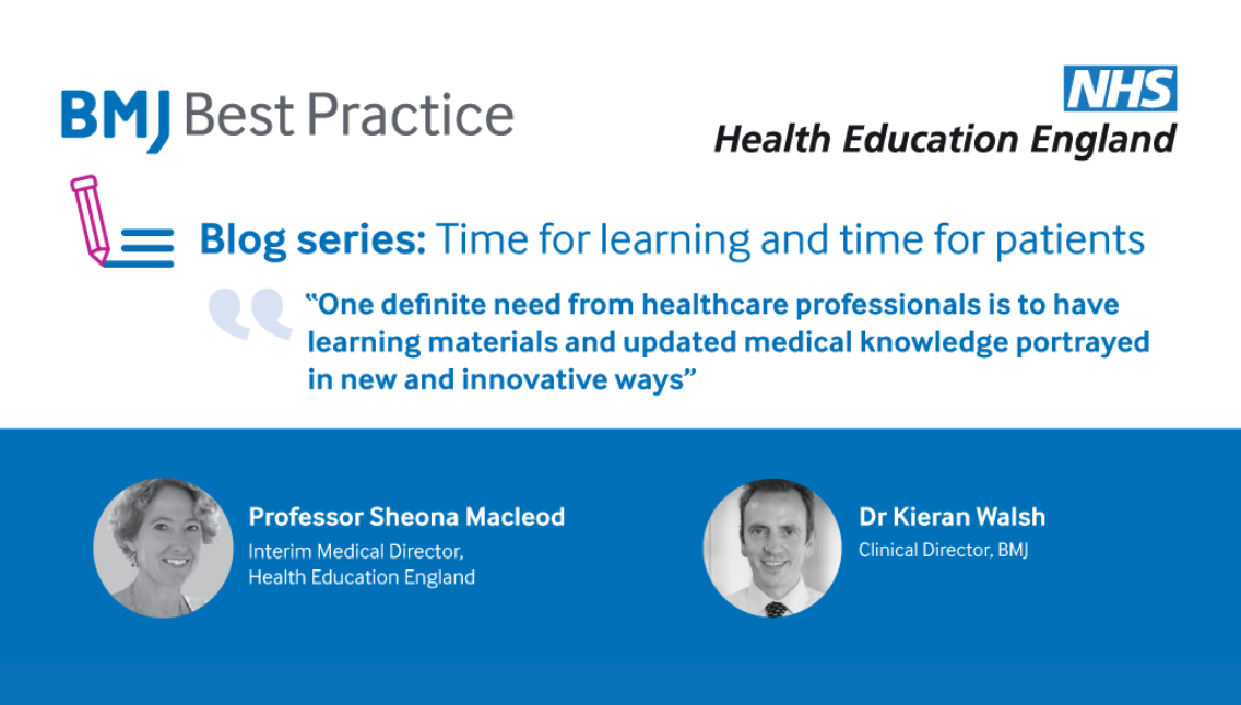 BMJ Best Practice: time for learning and time for patients